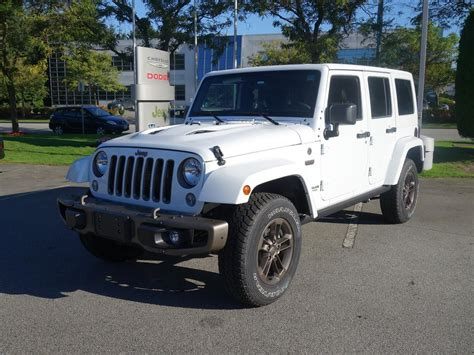 New 2016 Jeep Wrangler Unlimited 75th Anniversary Edition
