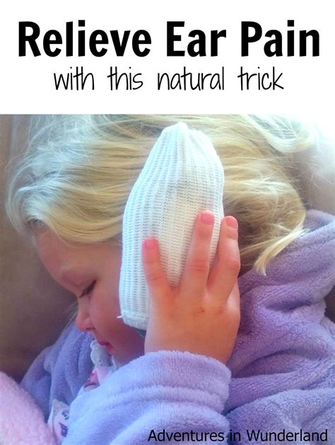 Relieve Ear Pain With This Natural Trick