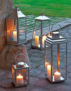 Lanterne Exterieur A Poser : la lanterne bougie un objet d co classique en 45 photos ~ Dailycaller-alerts.com Idées de Décoration