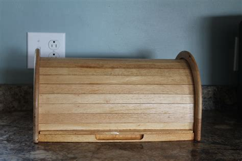 diy wood bread box  woodworking