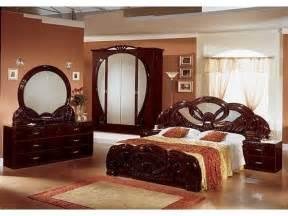 stylish italian mahogany high gloss bedroom furniture