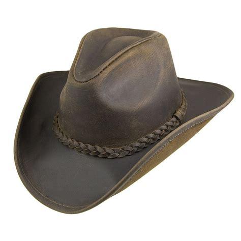 huete jaxon hats buffalo skinnhatt braun