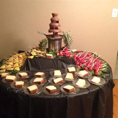 cater ii  fruit table displays