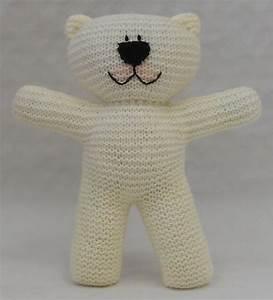 Teddy Bear Easy Knit Pattern Suitable For Beginner