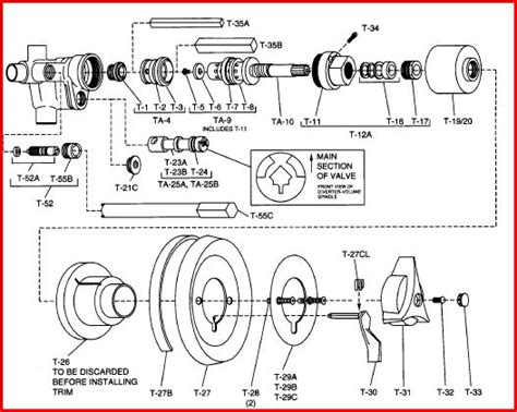 Glacier Bay Faucet Leaking by Delta Faucet Schematic Get Free Image About Wiring Diagram