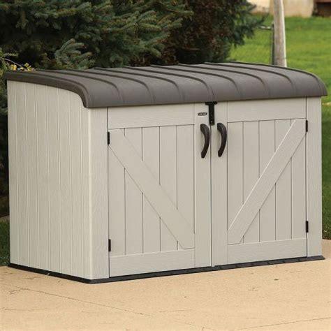 6x3 Lifetime Heavy Duty Low Storage Plastic Shed   Buy