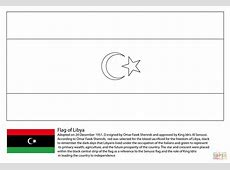 Flag clipart libya Pencil and in color flag clipart libya