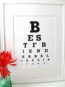 Friend Birthday Gifts Best Friends are Like by Eyecharts ...