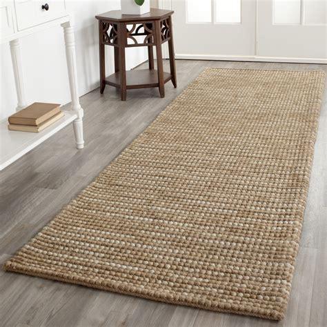 Safavieh Jute Rug by Safavieh Bohemian Woven Beige Wool Jute Area Rug