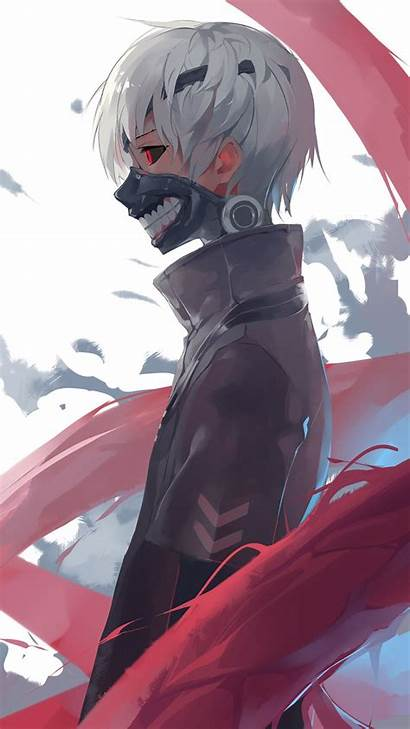 Ghoul Tokyo Iphone Anime Wallpapers Backgrounds Wallpaperaccess