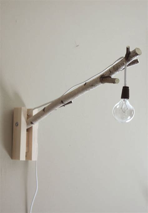 wall light exposed bulb woodland wall desk l