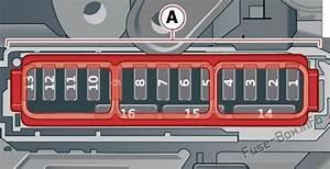 Fuse Box Diagram Audi Q8  2019