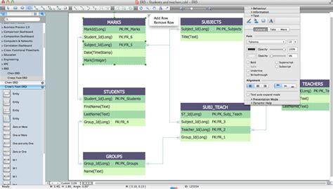 Er Diagram Maker Free by Erd Diagram Software Free Gettusb