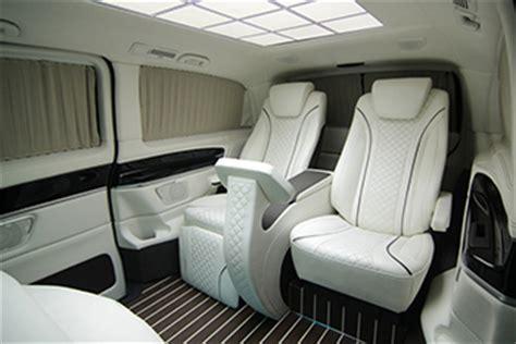 hq custom designs mercedes benz metris luxury van concept