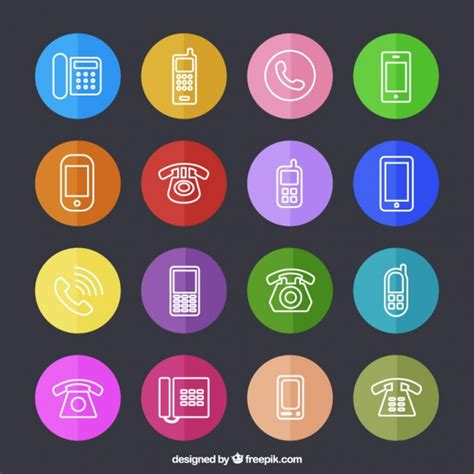 phone for free telephone icons vector free