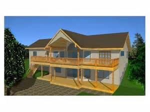 hillside walkout basement house plans plan 012h 0025 find unique house plans home plans and