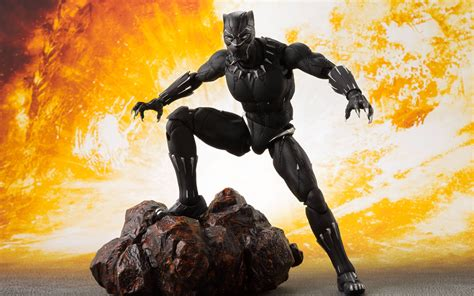 black panther action figure  wallpapers hd wallpapers