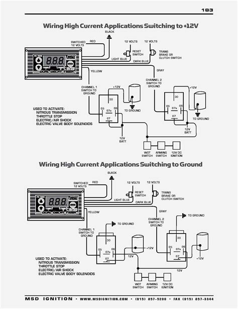 Msd Ignition Wiring Diagram Free