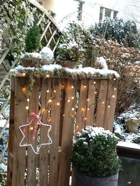 Weihnachtsdeko Garten Ideen by Weihnachtsdeko Im Garten Tischlein Deck Dich