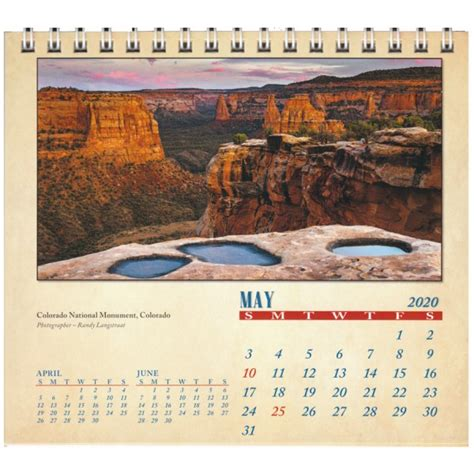 colorado plateau desk calendar adventrco