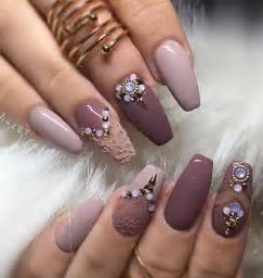 Rhinestone nail art ideas and design