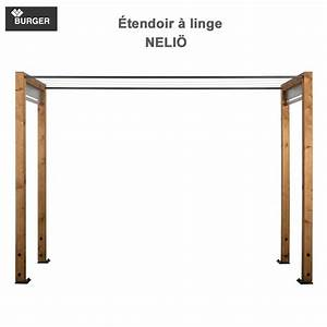 Etendoir A Linge Exterieur : tendoir linge d 39 ext rieur en bois neli 330 00 ~ Dailycaller-alerts.com Idées de Décoration