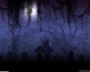 Scary graveyard at night wallpaper #18269 - Open Walls