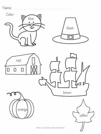 Thanksgiving Cat Pete Kindergarten Lesson Plan Activities