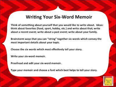 word memoir    week  school  love