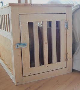 large wood pet kennel  table diy furniture