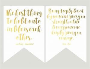 Printable Wedding Tags