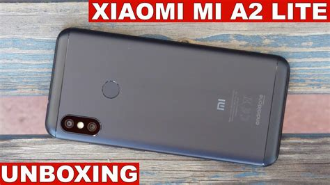 xiaomi mi a2 lite unboxing youtube