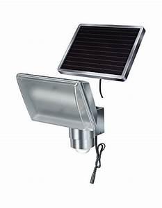 Lampe Extérieure Solaire : lampe led solaire ext rieure sol 80 alu ip 44 avec d tecteur infrarouge ~ Teatrodelosmanantiales.com Idées de Décoration