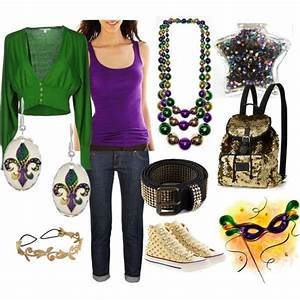 Mardi gras inspired outfit | My Style | Pinterest