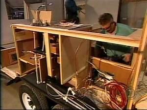 Fabriquer Mini Caravane : fabrication d 39 une remorque snack doovi ~ Melissatoandfro.com Idées de Décoration