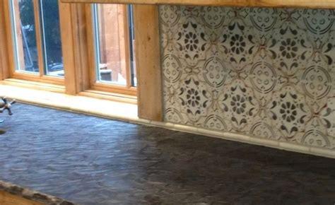 Painted Tiles For Kitchen Backsplash by Backsplash Painted Tiles