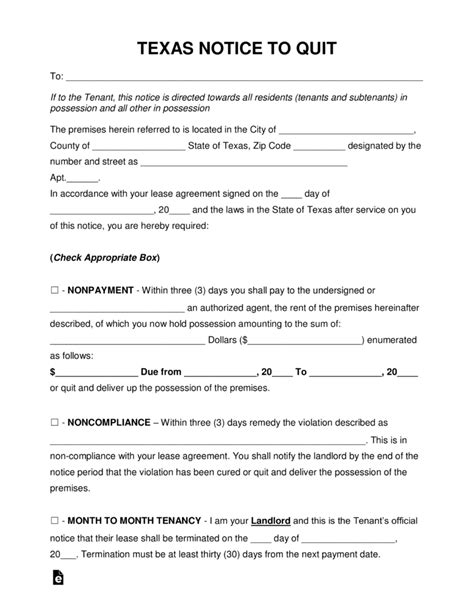 free eviction forms texas free texas eviction notice forms process and laws pdf