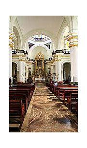 Gold altar church mexico. Golden ornate altar piece ...