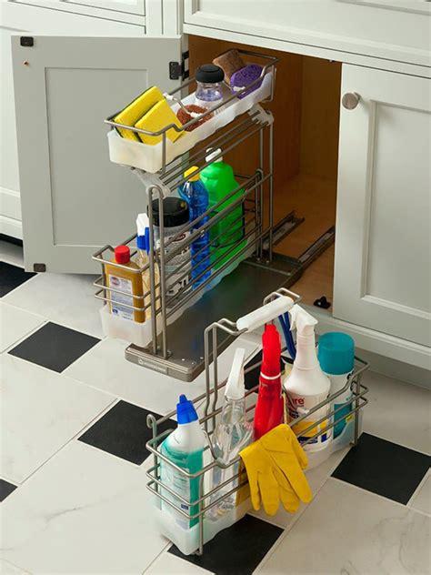 cleaning supplies storage cabinet hidden cleaning supply cabinet storage
