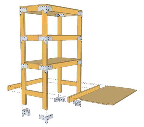 lalan simpson strong tie kwb workbench kit plans