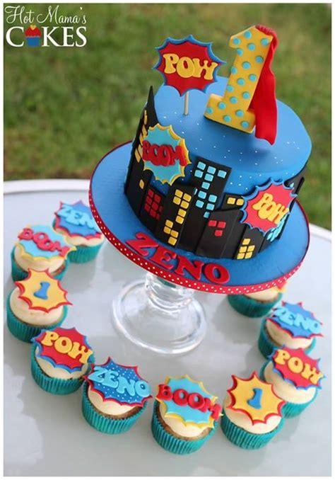 ideas  superhero cake  pinterest