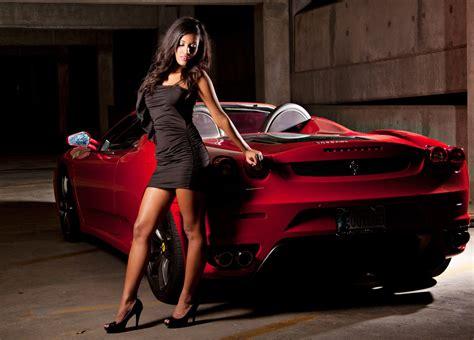 women girls cars ferrari wallpaper car girls