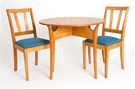 breakfast table and chairs guild of vermont furniture makers