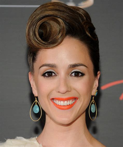 christina bennett lind formal long curly updo hairstyle