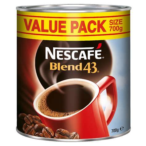 Dalgona coffee recipe i am a food. Nescafe Blend 43 Instant Coffee 700g | Officeworks
