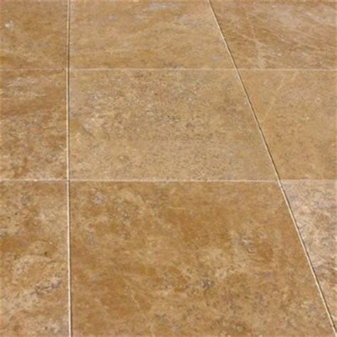 tuscany noce honed filled square travertine