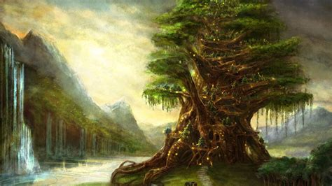 tree fantasy wallpaper picture hd  wallpaper cool