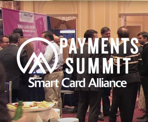 smart card alliance  payments summit coming   march