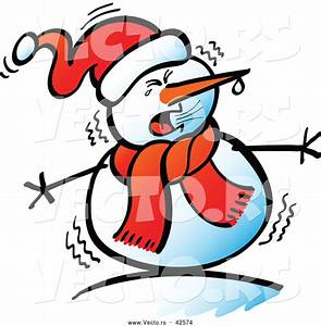 Cold Snowman Clipart (43+)