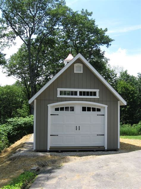 Single Car Garage Ideas  Woodworking Projects & Plans
